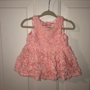 Cat & Jack Pink Ruffle Dress